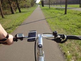 Test SD1 Urban e-Bike von HNF NICOLAI DSC01207 SD1 abholen blick fahrradweg_WM (2)