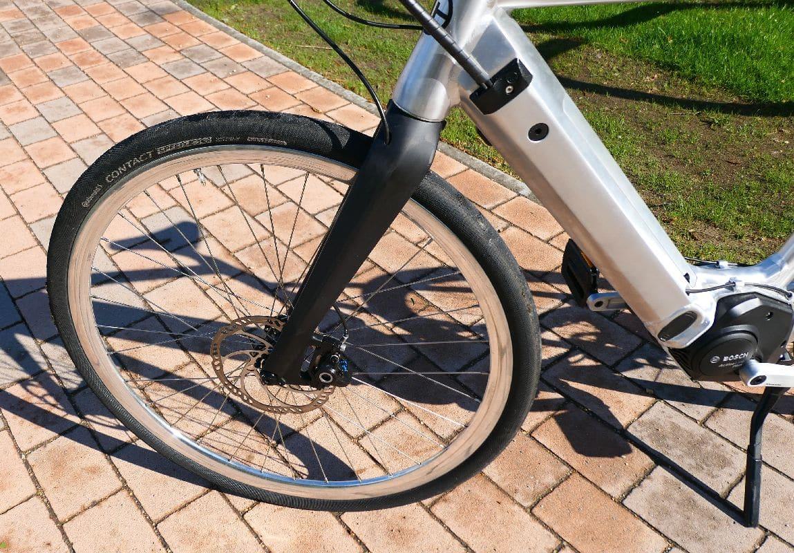 Test SD1 Urban e-Bike von HNF NICOLAI P1000173 SD1 Karbon Gabel_b_h_WM