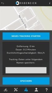 Rabeneick e-Bike App Tracking