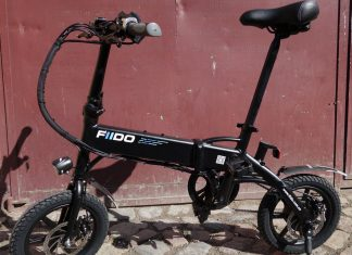 Fido D1 Test E-Bike Klapprad entfaltet
