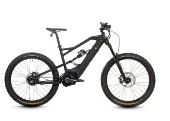 HNF XF2 Fully e-Bike 2018 Ansicht Profil