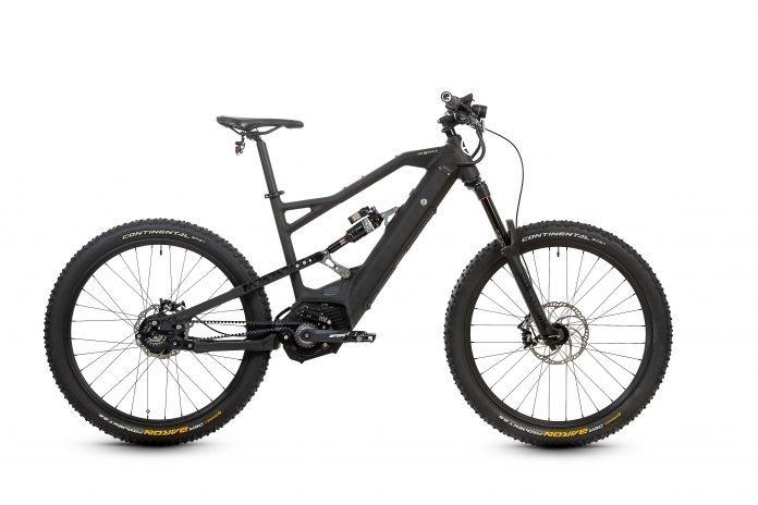 HNF XF2 Fully e-Bike 2018 Ansicht Profil