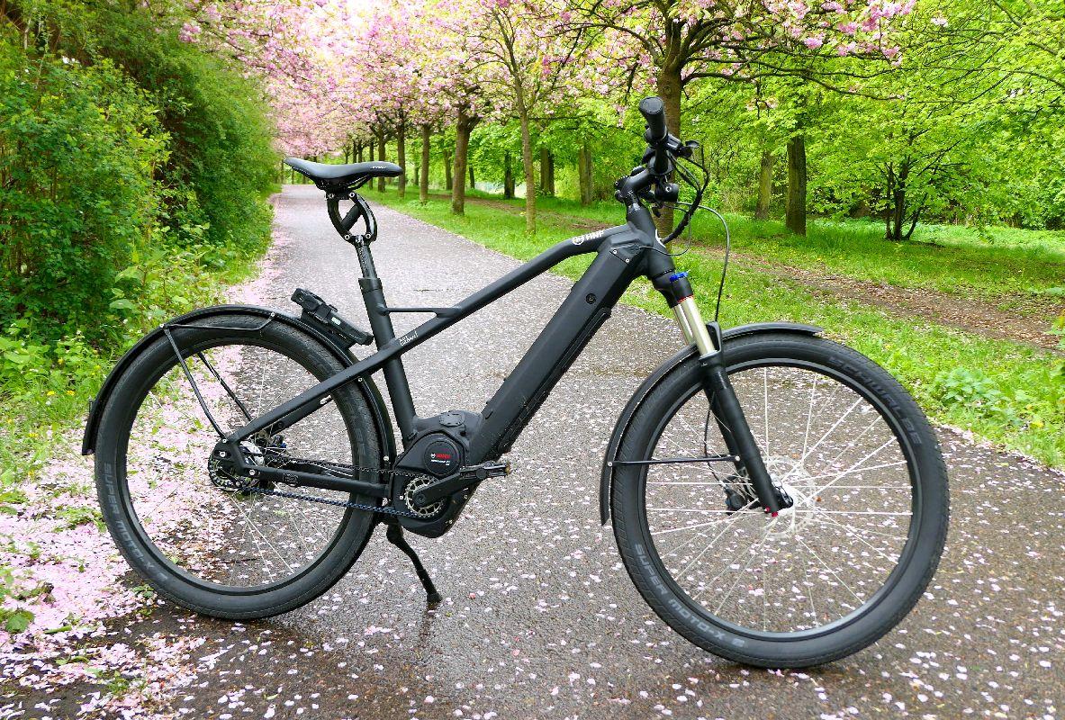 e-Bike Test: HNF-NICOLAI XD2 Urban von rechts - eBikeNews