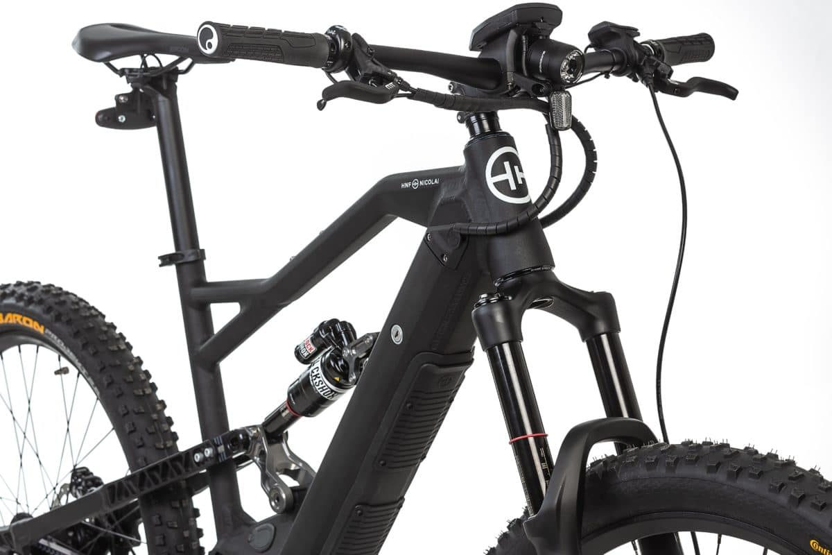 HNF-NICOLAI XF2 Fully e-Bike Federung E-Mountainbike