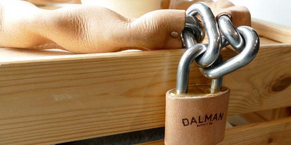 Lederschloss von Dalman