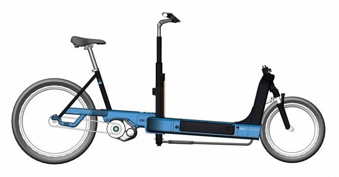 e bike manufaktur bringt e cargobike mit continental. Black Bedroom Furniture Sets. Home Design Ideas