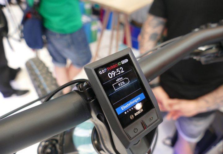 Kiox Mini Display unter den Bosch eBike Neuheiten 2019