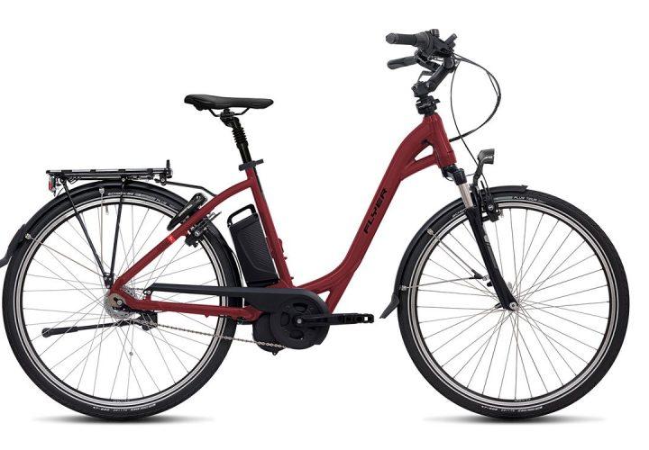 T-Serie_Tiefeinsteigerrahmen_redbrown_FLYER_E-Bikes