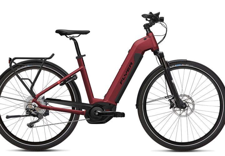 FLYER_E-Bikes_Upstreet4_Tiefeinsteigerrahmen_redbrown