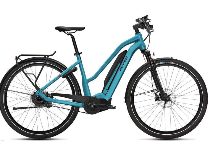 FLYER_E-Bikes_Upstreet5_Trapezrahmen_glacierblue