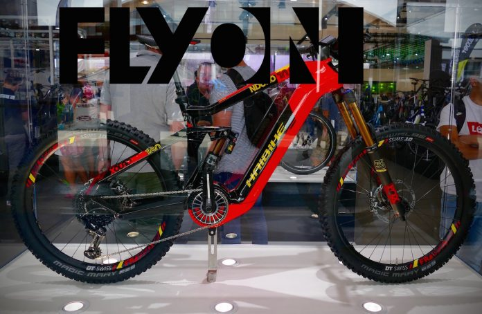 flyon haibike bringt eigenen extrem motor ins e mtb. Black Bedroom Furniture Sets. Home Design Ideas