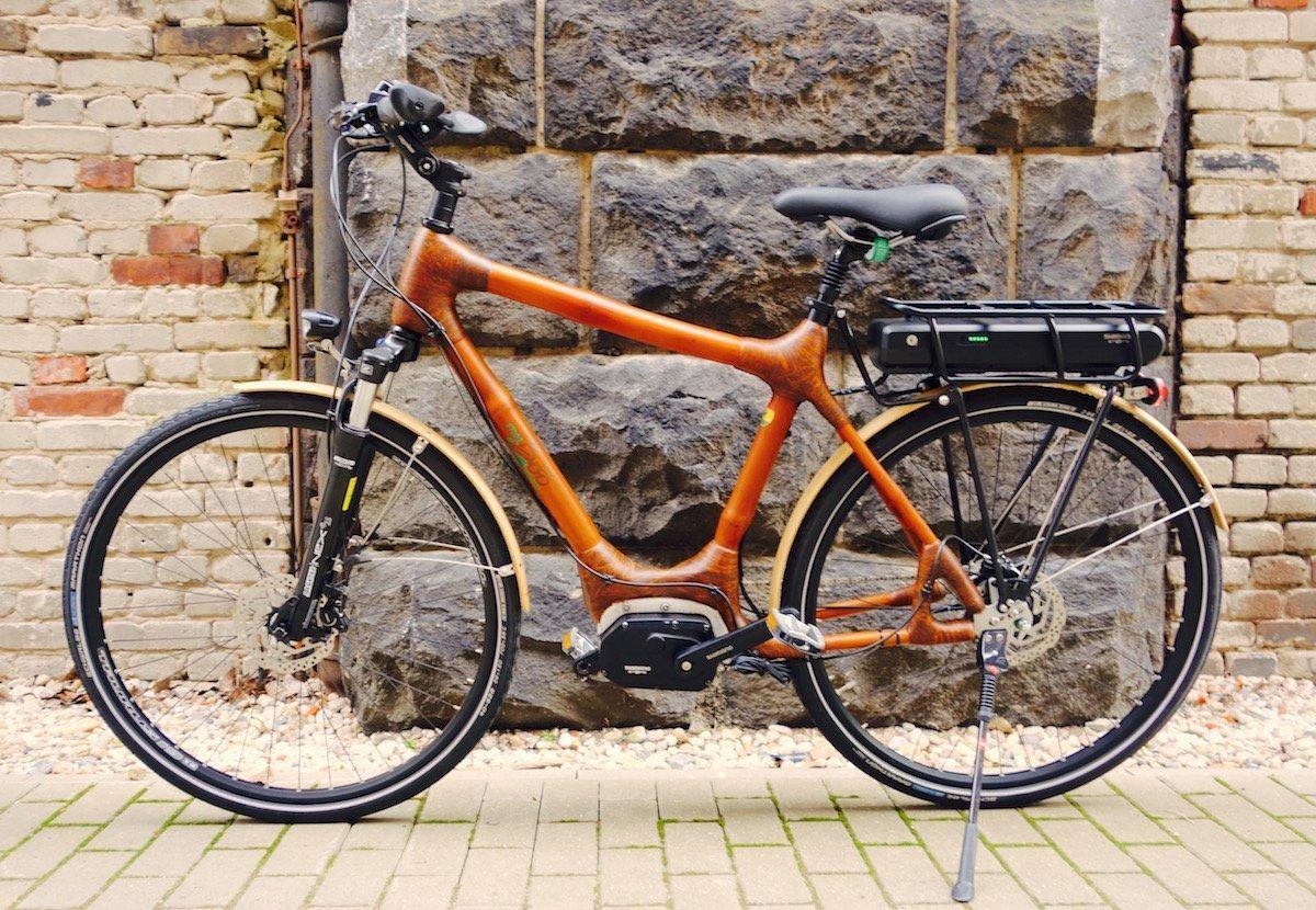 Spar-Alarm: Trekking e-Bike aus Bambus my Volta 10% günstiger ...