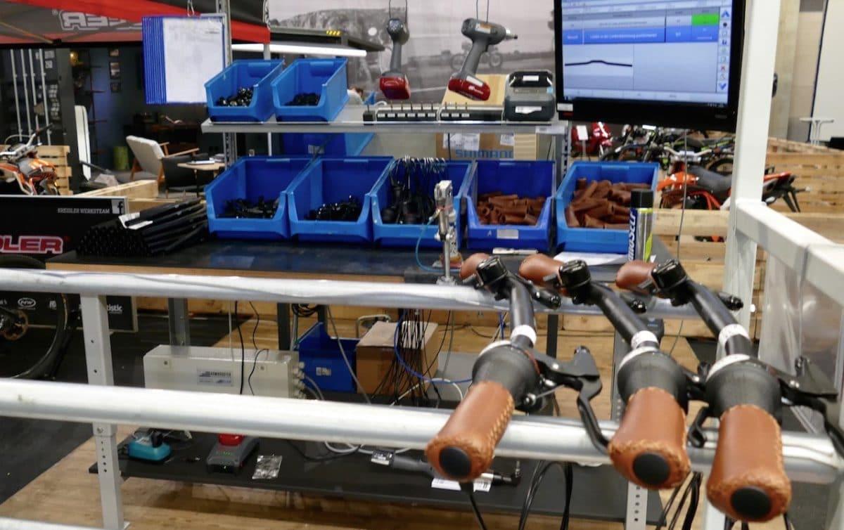 e-Bike Aufbau Komponenten Lenker
