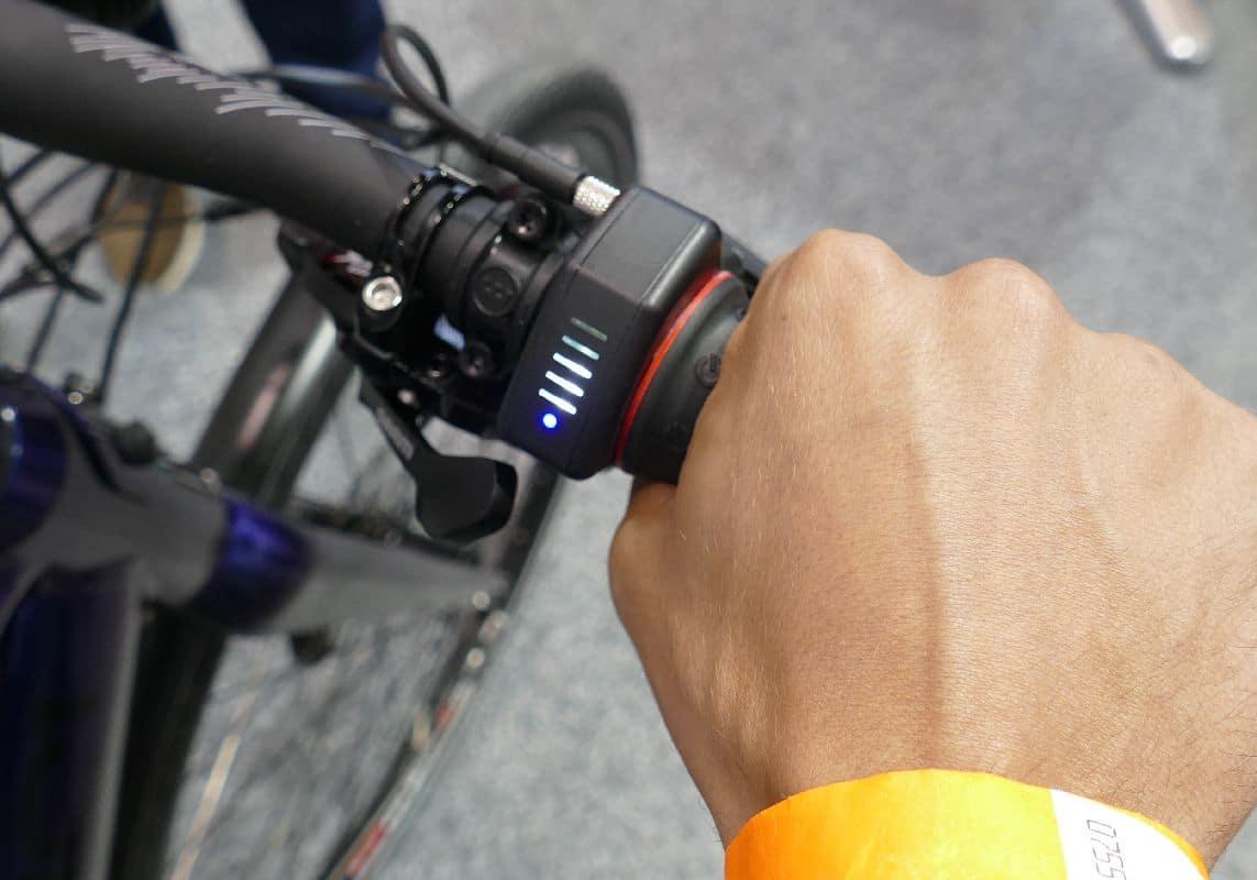 maxon BIKEDRIVE Drehgriff und Anzeige am Zeroundici e-Bike 2019