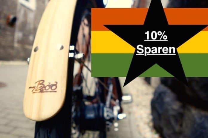 my Boo Bambus e-Bike 10 Prozent günstiger