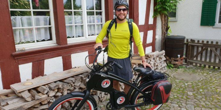 Schweiz 2018 mit YouMo e-Cruiser Testtag Start