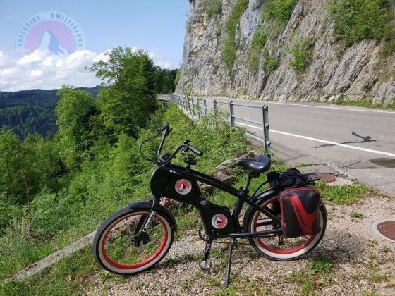 Vor Saint Bras auf der Tour durch die Schweiz 2018