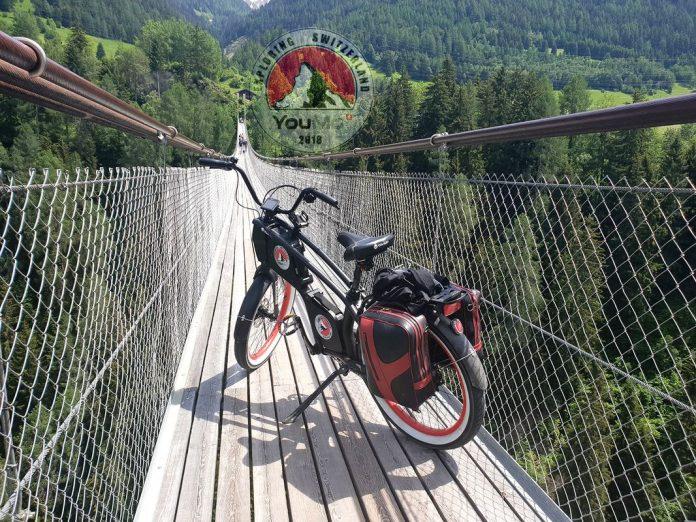 Jahresrückblick Hängebrücke Goms