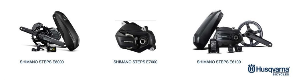 Shimano Steps Antriebe bei Husqvarna Bicycles 2019