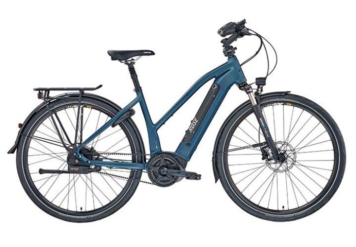 Trapezrahmen macht XTRA WATT EVO e-Bike zum UNISEX Modell