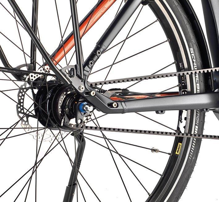 NuVinci Nabenschaltung, Rohloff Getriebe oder Shimano Kettenschaltung im neuen XTRA WATT EVO e-Bike