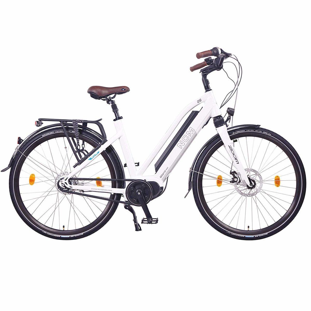 g nstiges ncm milano max e bike jetzt mit mittelmotor von. Black Bedroom Furniture Sets. Home Design Ideas