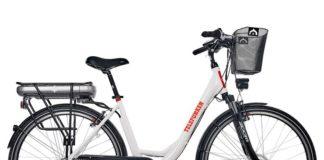 Vollansicht Telefunken Multitalent rc657 Citybike Lidl e-Bike 28 Zoll