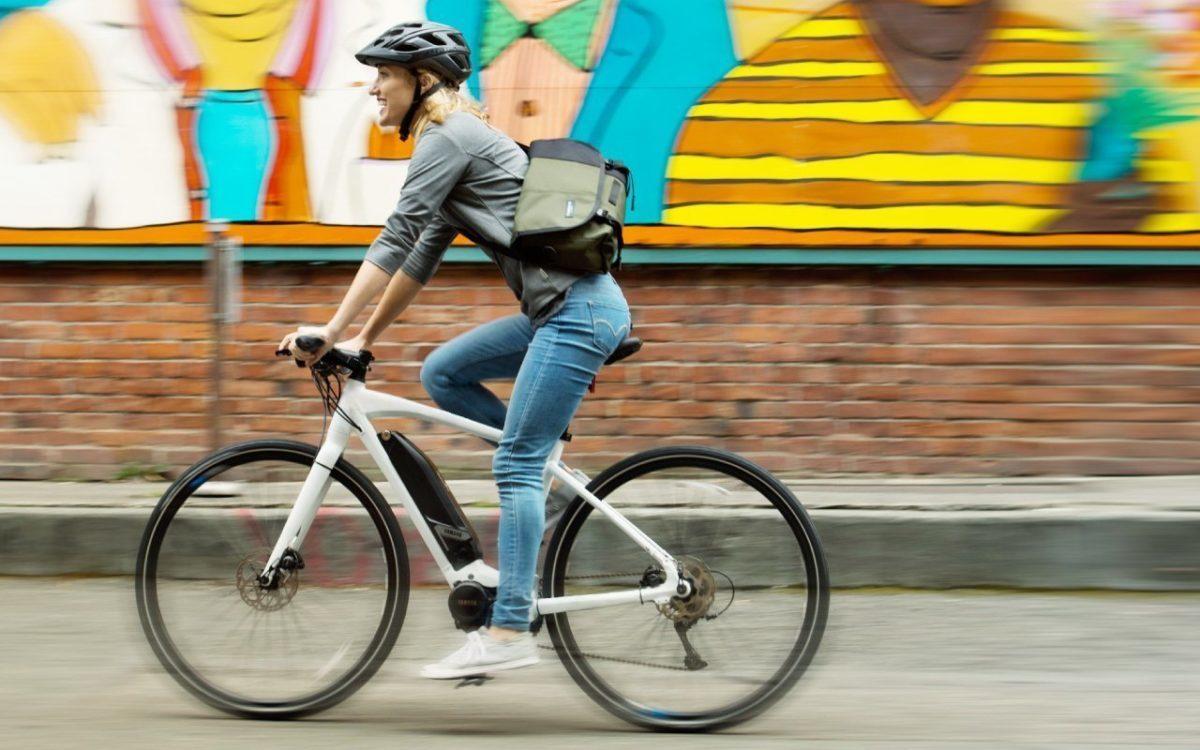 Yamaha TE in City e-Bike