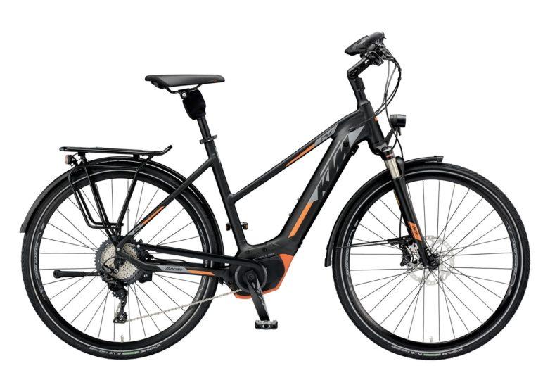 799461211_MACINA STYLE XT 11 CX5 DA M-51_black matt (grey+orange)_345 KTM e-Bikes 2019