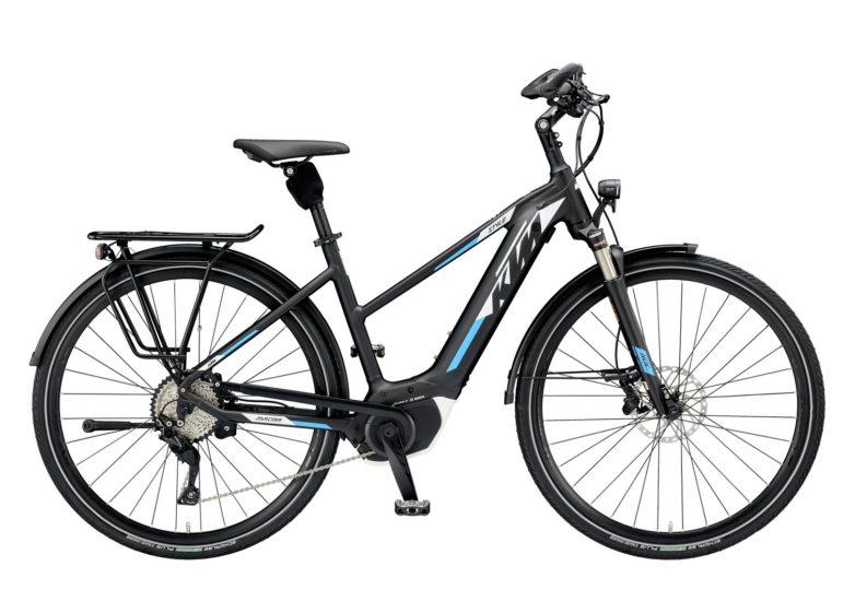 799462206_MACINA STYLE 10 CX5 DA S-46_black matt (white+azzuro)_177 KTM e-Bikes 2019