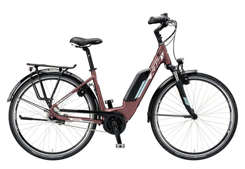 799478506_MACINA CENTRAL 7 RT A+4 US S-46_bordeaux matt (white+mint)_252 KTM e-Bikes 2019