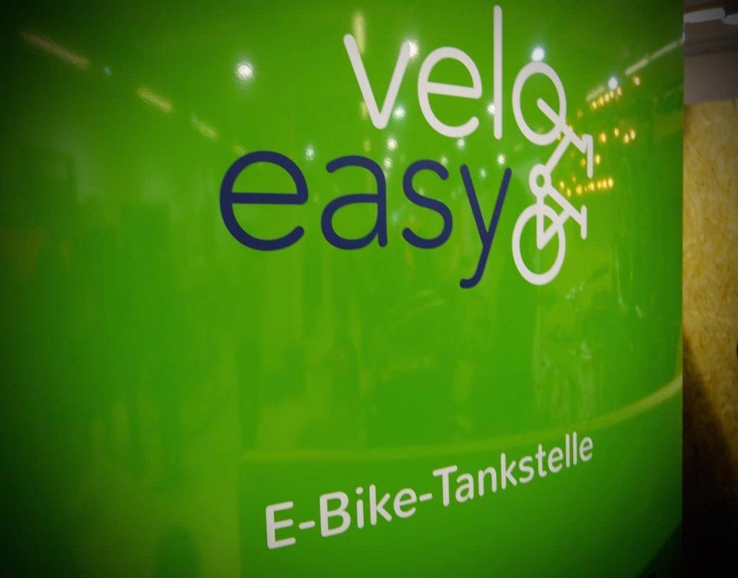 E Bike Tankstelle zum Akku Nachladen