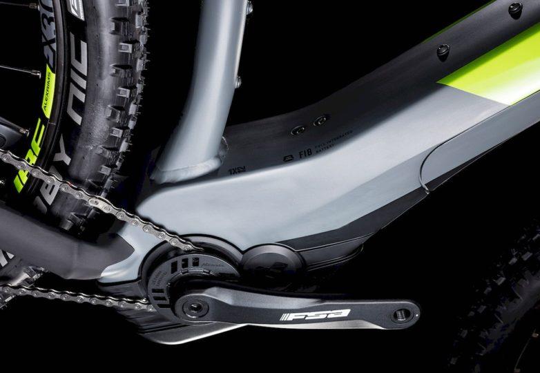 234181_D_4 Reaction Hybrid EAGLE 500 grey´n´green 2019 Cube e-Bike 2019 Top
