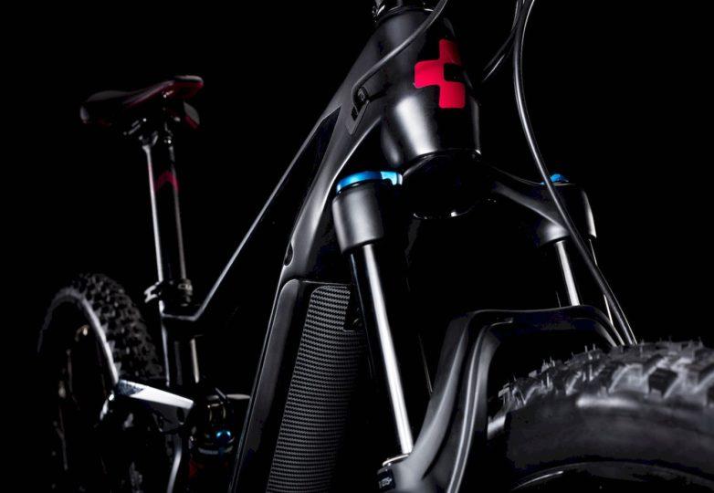 Gabel Sting Hybrid 120 HPC SL 500 KIOX carbon´n´berry 2019