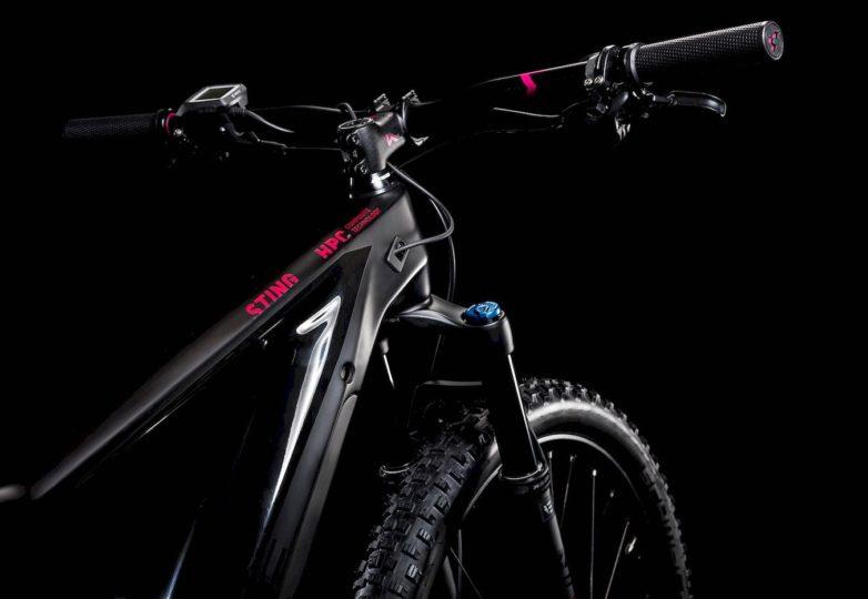 Detail  Sting Hybrid 120 HPC SL 500 KIOX carbon´n´berry 2019