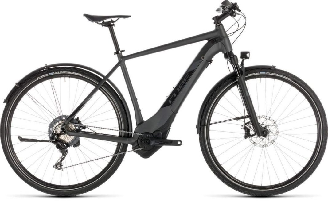 Cross Hybrod SL Allroad iridium'n'black Cube e-Bike 2019 Top