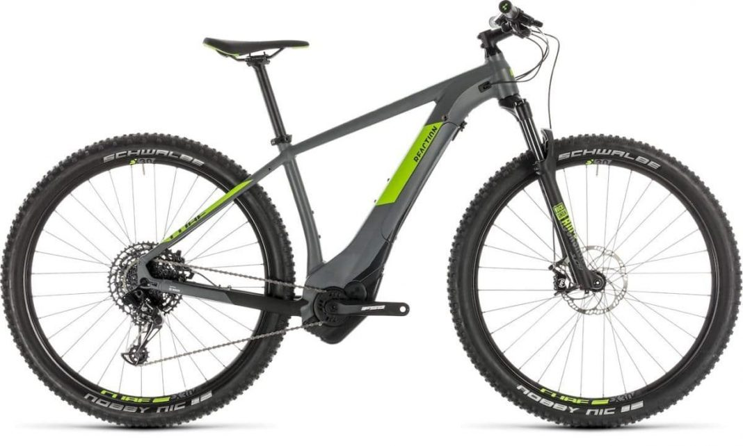 Reaction Hybrid EAGLE 500 grey´n´green 2019 234181_light_zoom Cube e-Bike 2019 Top