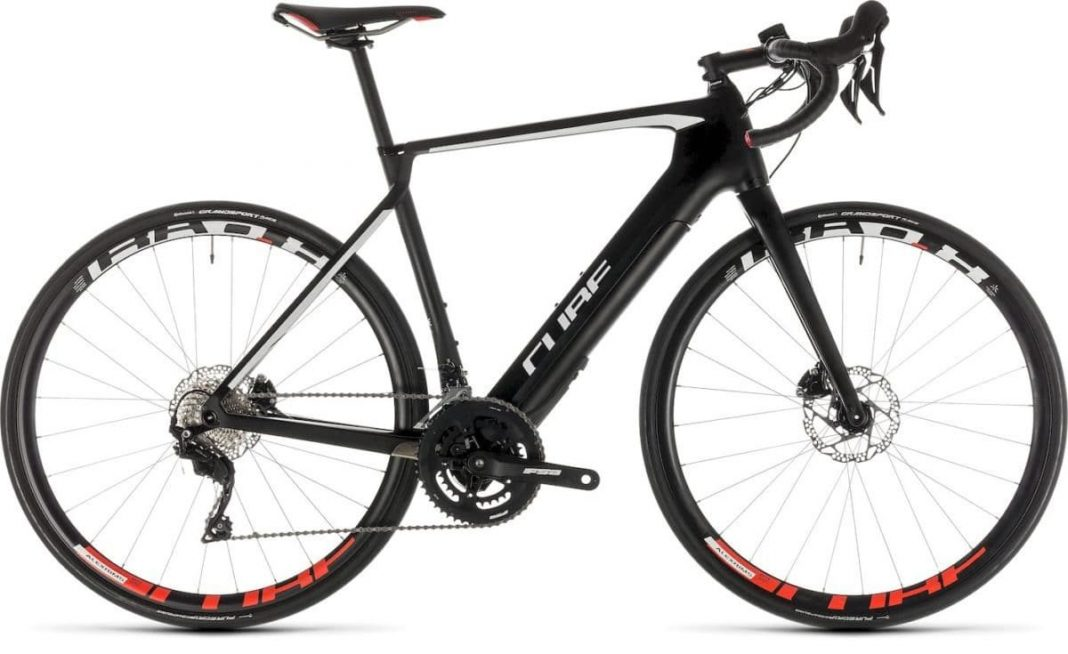 Road Race Agree Hybrid C.62 Race carbon'n'white Cube e-Bike 2019 Top