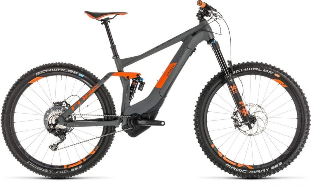Stereo Hybrid 140 TM 500 KIOX 27.5 grey´n´orange 2019 236401_light_zoom Cube e-Bike 2019 Top
