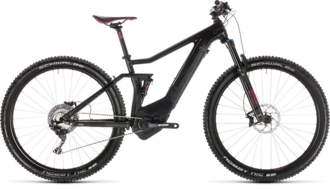 Sting Hybrid 120 HPC SL 500 carbon´n´berry 2019 Cube e-Bike 2019 Top