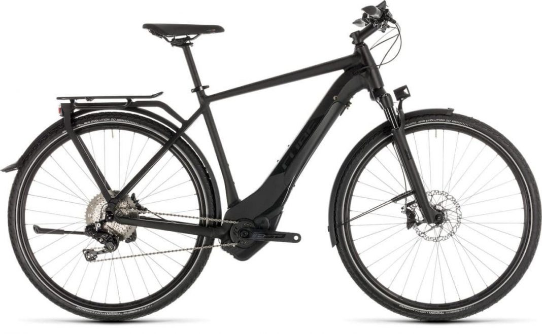 Touring Kathmandu Hybrid SL 500 black edition Cube e-Bike 2019 Top