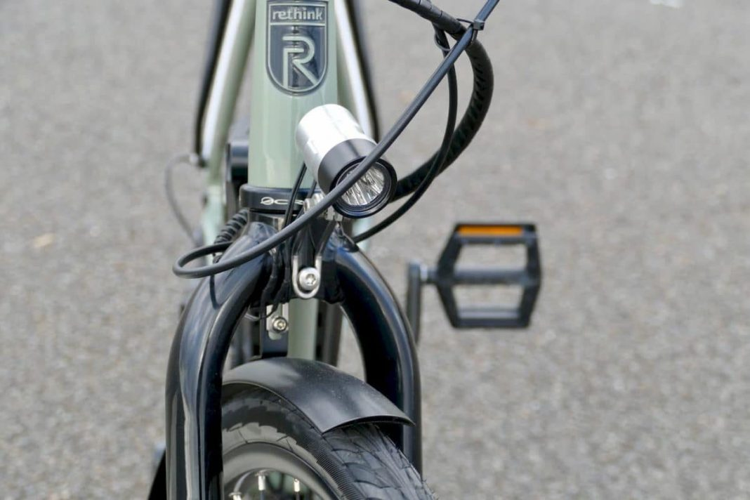 Frontstrahler am rethink@ e-Bike City High