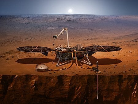 Mars InSight Illustration