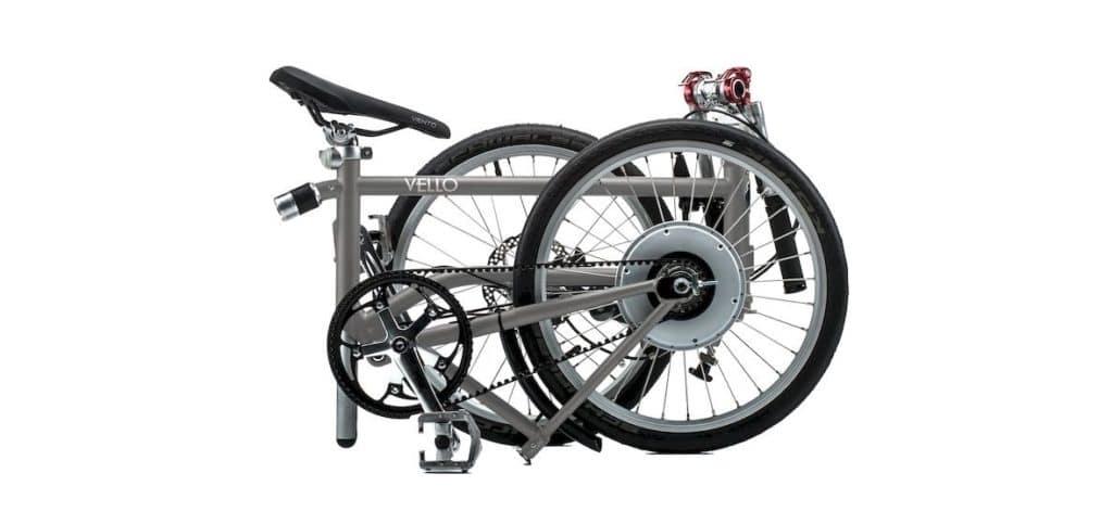 Bike+ Titan VELLO_Faltung selbstladendes e-Faltrad