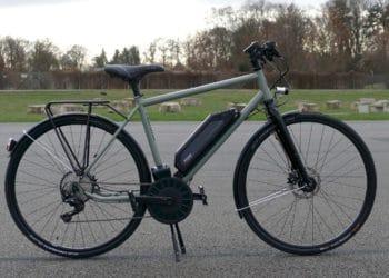 rethink@ City High Test e-Bike in Vollansicht