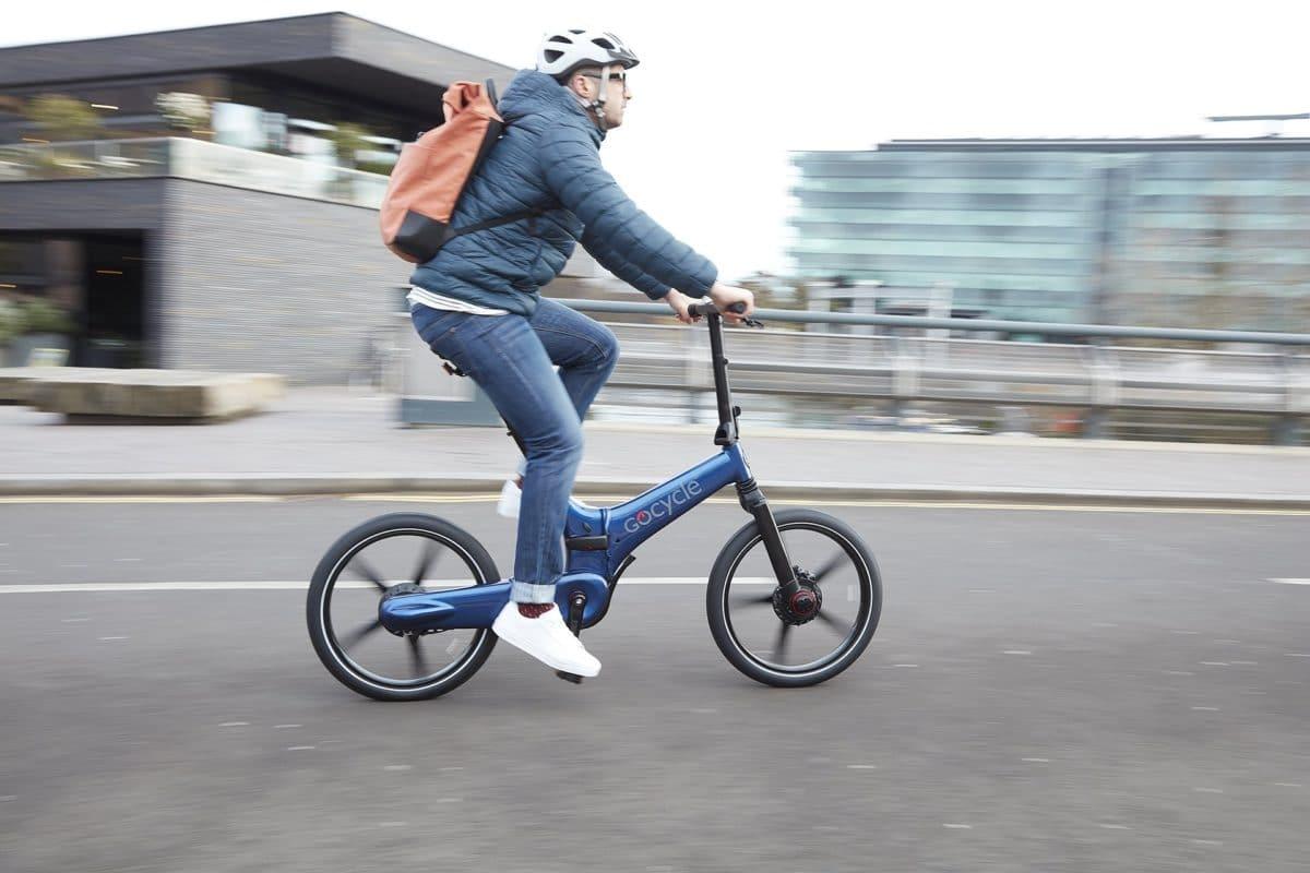 Das Gocycle auf der Straße - eBikeNews