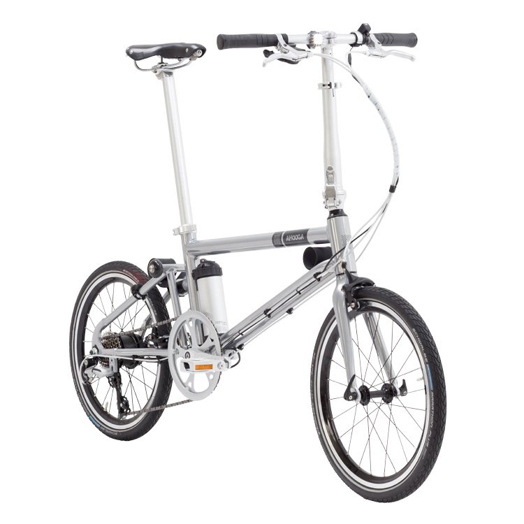 ahooga power e bike klapprad mit dem plus ebike. Black Bedroom Furniture Sets. Home Design Ideas
