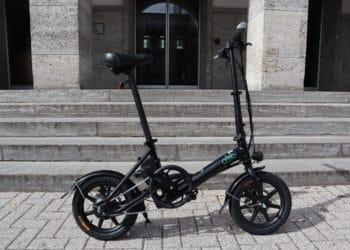 E-Bike Fiido D3 - von der Seite