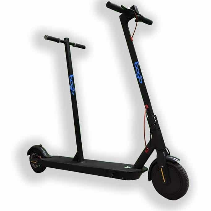 Bogo Tandem E-Scooter in der Seitenansicht