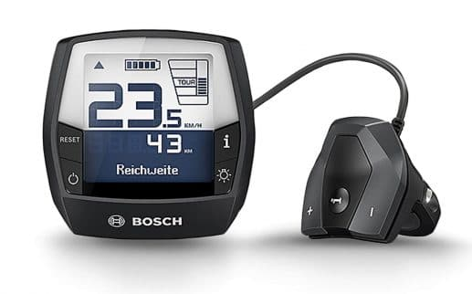 HNF UD3 All Terrain: Bosch Intuvia Display - eBikeNews